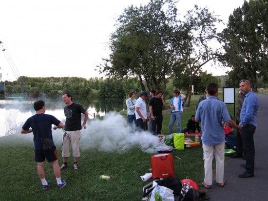 Barbecue Cergy